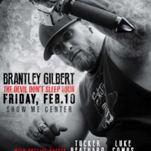 Brantley Gilbert at Show Me Center