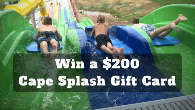 Win a $200 Cape Splash Gift Card