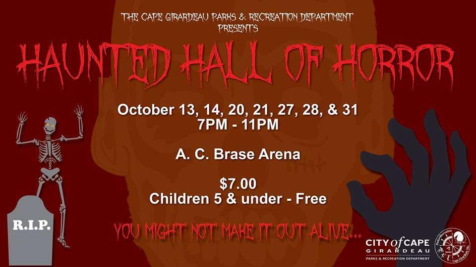 haunted hall of horror 2017