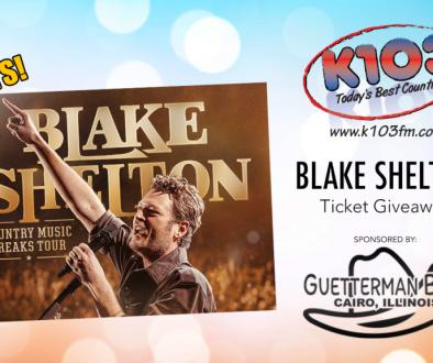 Blake Shelton giveaway