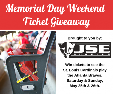 Memorial Day Weekend Cardinals Tickets
