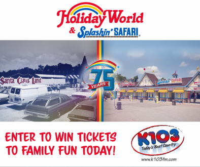 enter to win holiday world tickets