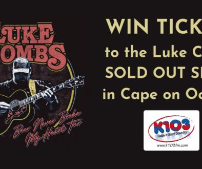 Win Free Luke Combs tickets