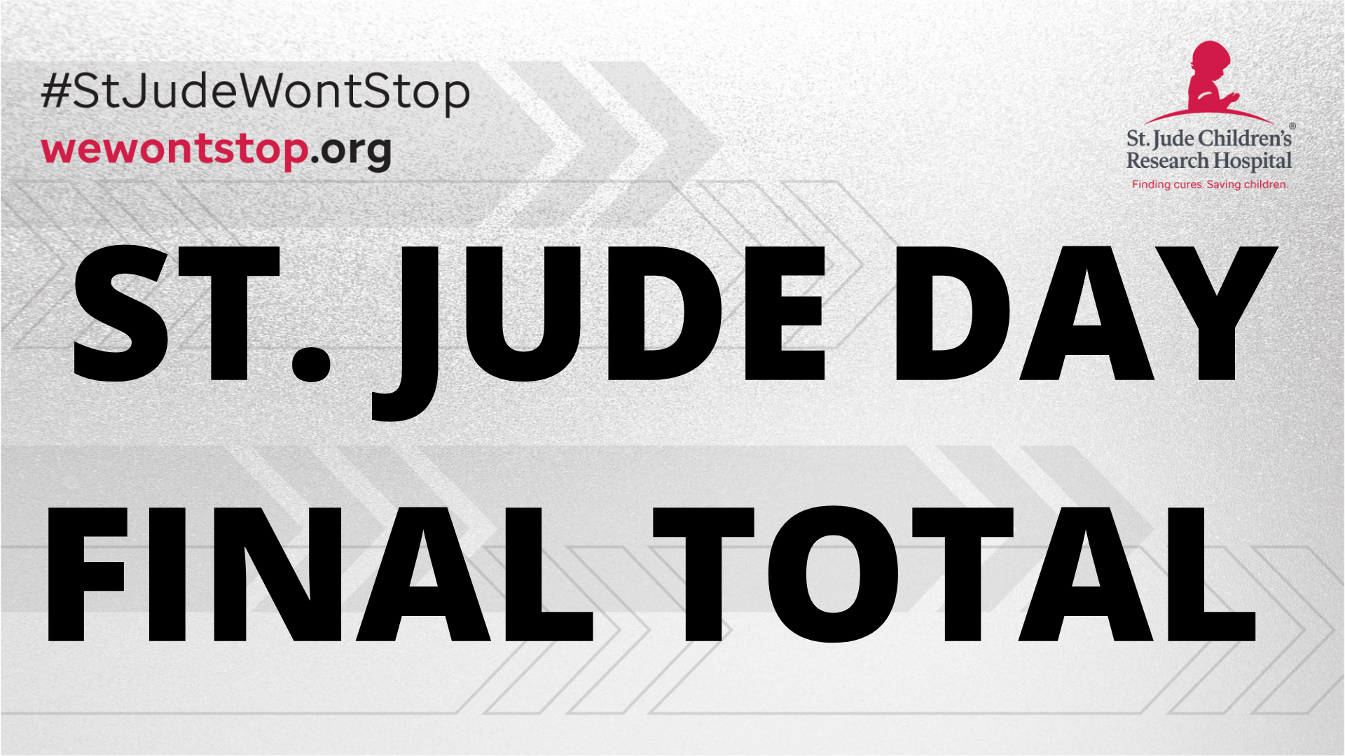 St. Jude Day FINAL TOTAL!